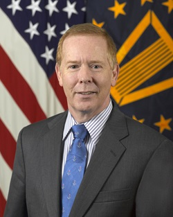 Barclay P. Butler, Ph.D., MBA, the Assistant Director for Management (AD-M) for the Defense Health Agency (DHA)