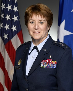 Official image of Lt. General Dorothy A. Hogg