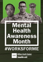 Image for Mental Health Awareness Month #WorksForMe