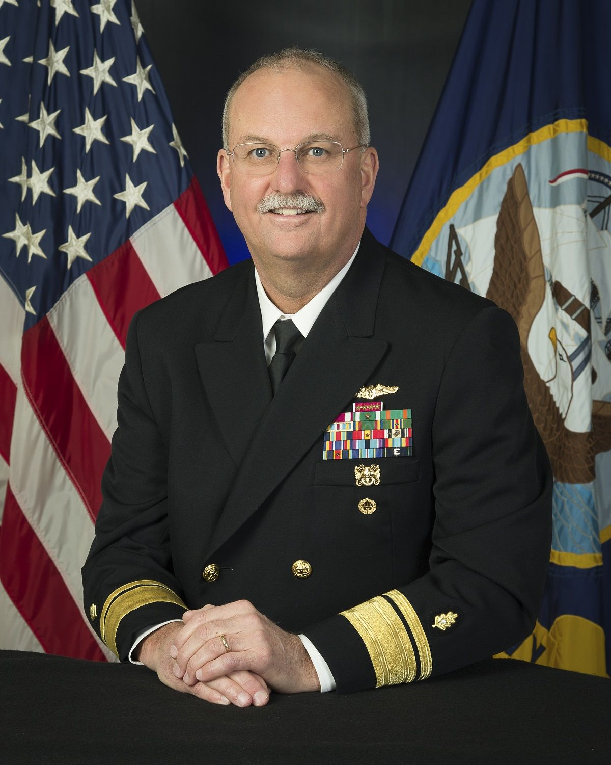Photo of Rear Adm. Bruce L. Gillingham leads Navy Medicine's transformation to a high reliability organization as deputy chief of Bureau of Medicine and Surgery Readiness & Health, and Navy Medicine's first chief quality officer.