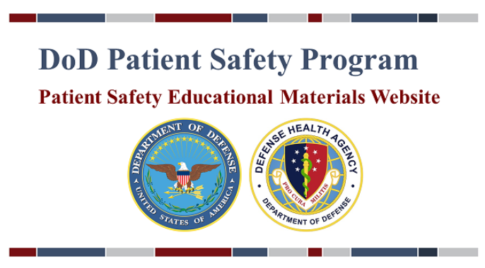 Patient Safety Materials Ordering