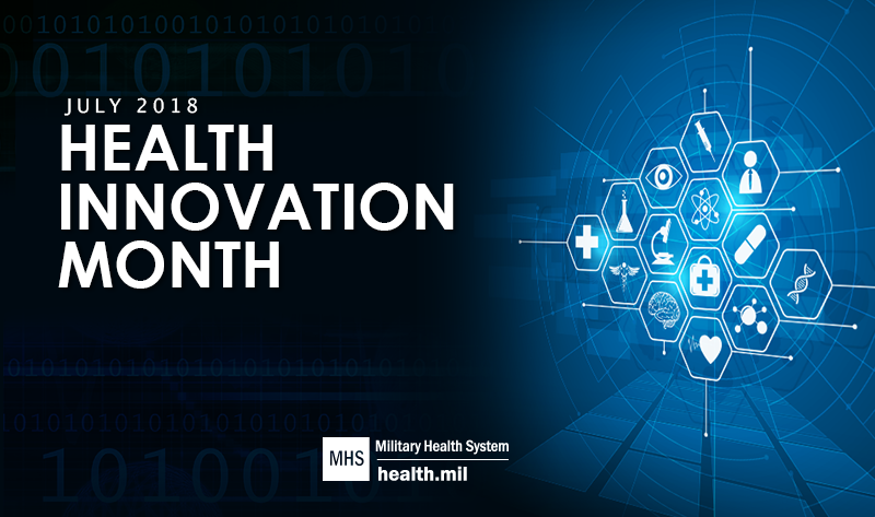 July is Health Innovation Month