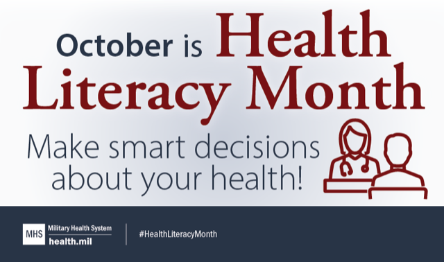 Health Literacy Month 2020