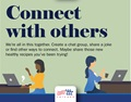 make connections while teleworking