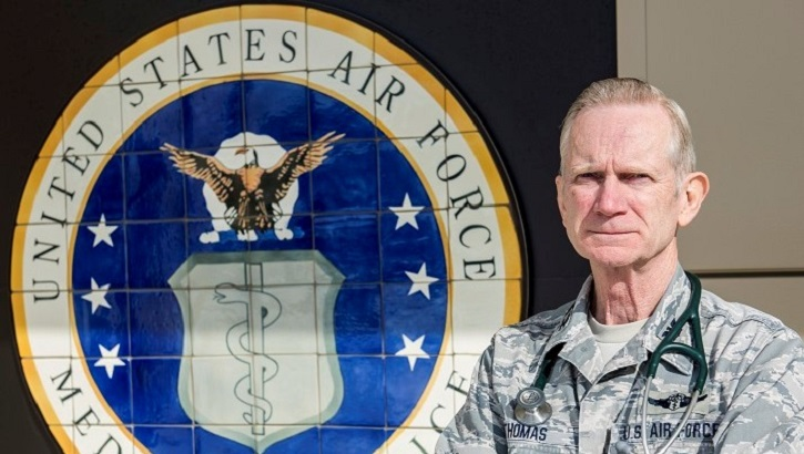 Links to Air Force doctor retires after 48 years of service
