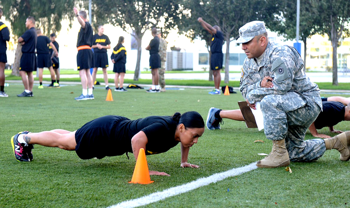 The month of January provides a fresh opportunity to take command of your health and improve your physical and emotional health, job performance, and mission readiness. (Courtesy photo)