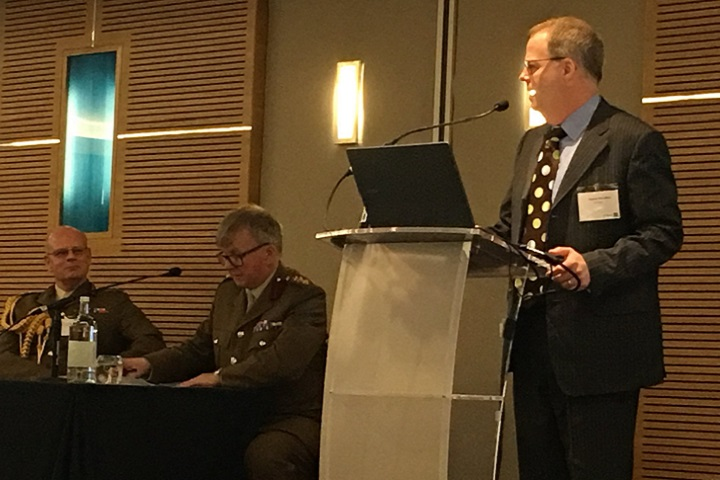 "Acting Assistant Secretary of Defense for Health Affairs Tom McCaffery spoke at the 2018 Medical Support Operations Conference in London, delivering remarks on the defense sector's role in advancing the Global Health Security Agenda. A partnership of more than 60 nations, the Global Health Security Agenda, or GHSA, brings together the unique roles of governments, industry, NGOs, academia, and international institutions to combat infectious disease threats. ""We are up against a perilous rise in infectious disease outbreaks threatening the health and safety of our citizens, as well as threatening geopolitical stability,"" stated McCaffery, emphasizing that global health security is an essential part of our national security. ""The bottom line is that defense and security sectors have a real opportunity to use the GHSA framework to increase collaboration and converge our unique assets across all sectors to detect and defeat disease at the earliest possible moment,"" McCaffery said."