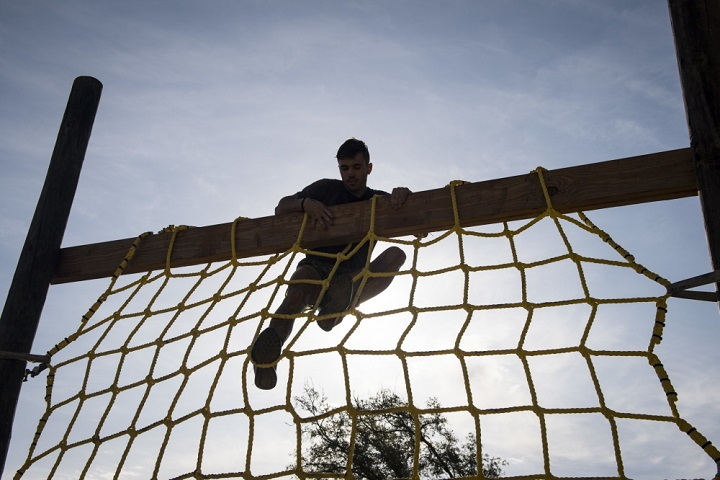As patients navigate behavior change, you can show them how to avoid the common pitfalls that can derail good intentions. Like climbing an obstacle, there are small steps to prepare patients to achieve their goals in the upcoming year. (U.S. Air Force photo by Senior Airman Janiqua P. Robinson)