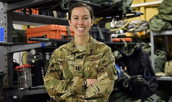 Deployed Airman provides critical care anywhere | Health mil