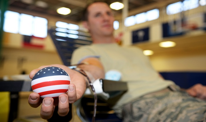 Since 1962, the Armed Services Blood Program has served as the sole provider of blood for the United States military. As a tri-service organization, the ASBP collects, processes, stores and distributes blood and blood products to Soldiers, Sailors, Airmen, Marines and their families worldwide. (U.S. Air Force photo by Airman 1st Class Tenley Long)