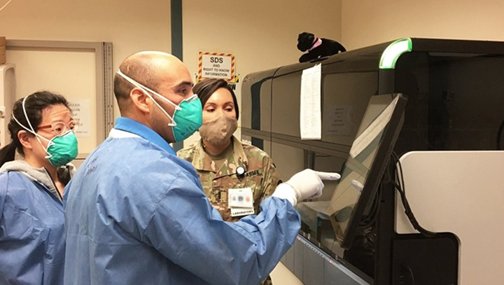Army Cid Forensics Team On The Frontline Of The Covid 19 Pandemic Health Mil