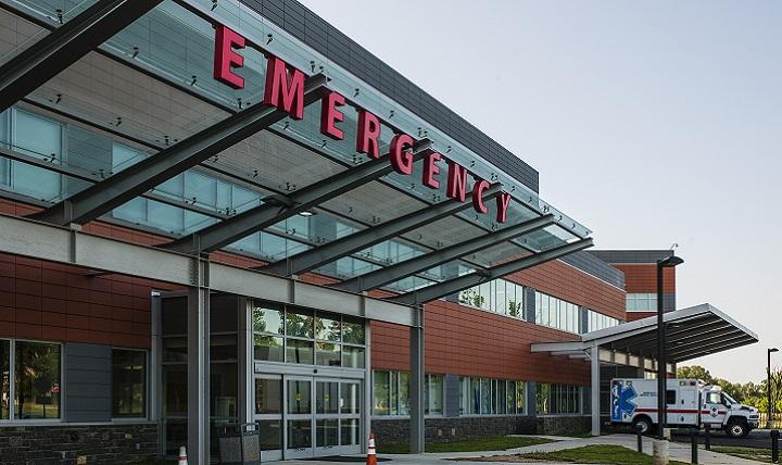 Image result for outside emergency hospital