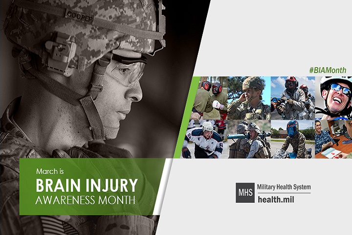 The Defense and Veterans Brain Injury Center is leveraging new technologies and cutting-edge research to develop concussion care tools and protocols that prioritize early identification and individualized treatment to maximize warfighter brain health. (MHS graphic)