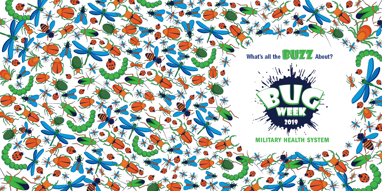 Join the fun! Download this banner and use it as your temporary Twitter cover photo during Bug Week.