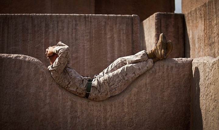 Members of the military, whose jobs put them in situations where proper sleep is sometimes difficult, can be especially hard hit. According to the National Institutes of Health, about 10 percent of the general population has insomnia, but that number jumps to close to 25 percent in the military. (U.S. Marine Corps photo)