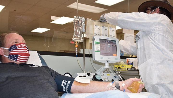 Dod Launches Effort To Collect Covid 19 Convalescent Plasma