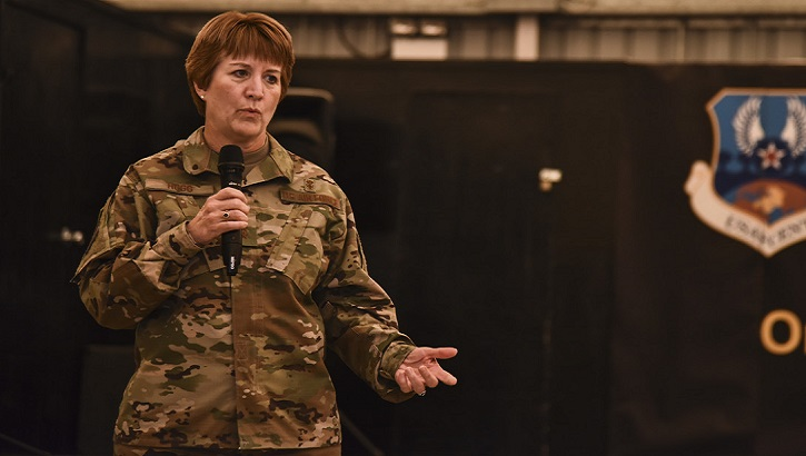 Air Force medics and health personnel around the globe are resolutely following and ensuring compliance with guidelines issued by the Department of Defense and Centers for Disease Control and Prevention according to Air Force Lt. Gen. Dorothy Hogg.