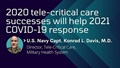 "Infographic that says ""202 tele-critical care successes will help 2021 COVID19 response"""
