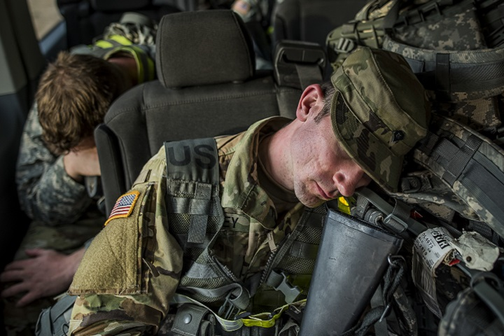 The fact that properly resting personnel has multiple benefits across the spectrum of human performance and military readiness is undisputed. (U.S. Army photo by Master Sgt. Michel Sauret)