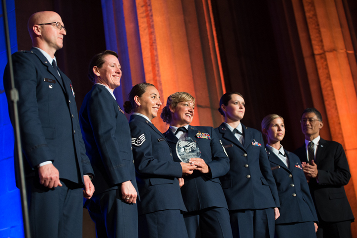 Servicemembers Demonstrate Grace Under Fire Health