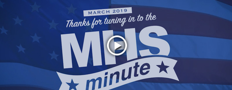 Thanks for tuning in to the MHS Minute! Check back each month to learn about more exciting events and achievements by organizations and partners across the Military Health System.