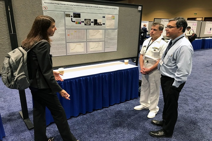 More than 3,000 people attended the 2018 MHSRS meeting. Attendees participated in a wide range of sessions targeting combat casualty care, military operational medicine including psychological health and resilience, clinical and rehabilitative medicine, medical simulation and health information sciences, and military infectious diseases. (DoD photo)