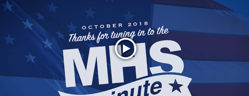 Watch this edition of the MHS Minute to find out about the exciting events and activities that took place in the Military Health System last month.