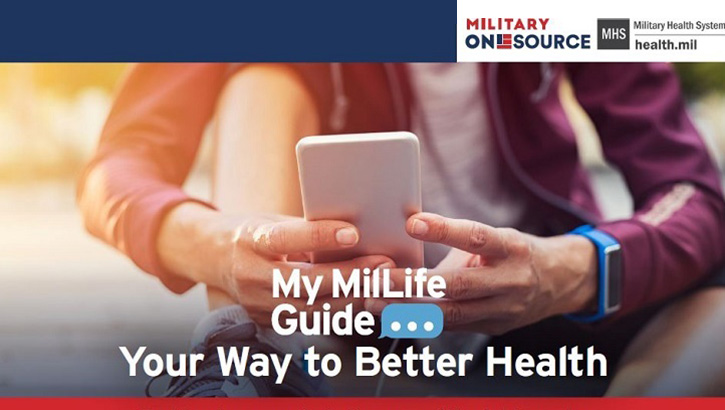 "Opens larger image for DOD Launches ""My MilLife Guide"" Text Message Program to Boost Wellness"