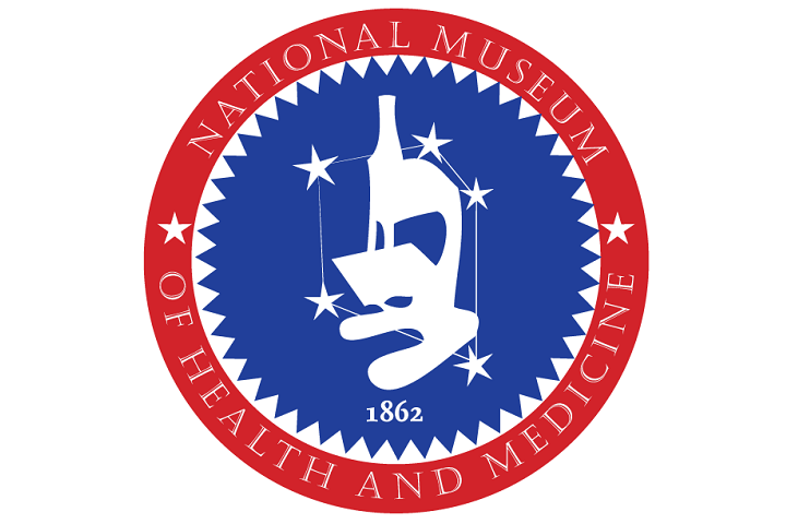 The National Museum of Health and Medicine promotes the science and history of medicine, with a special emphasis on tri-service American military medicine. The museum identifies, collects and preserves important and unique resources to support a broad agenda of innovative exhibits, educational programs and scientific, historical and medical research. The museum maintains a national landmark collection of objects that sustains and promotes military medical history, tradition, and research to the Department of Defense and civilian communities. (NMHM graphic)