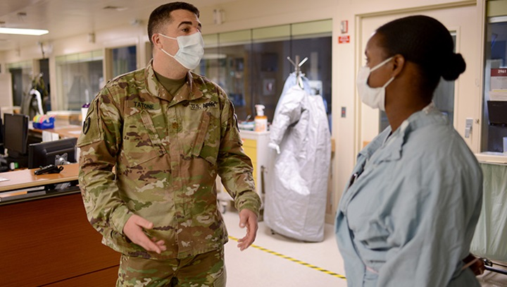 Nurses Stay Ready During Covid 19 Pandemic Health Mil