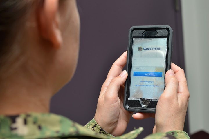 Navy Care App Enables Medical Appointments From Work Home Health