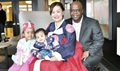 The Nunns with daughter Sabella and son Gideon. (Courtesy file photo)