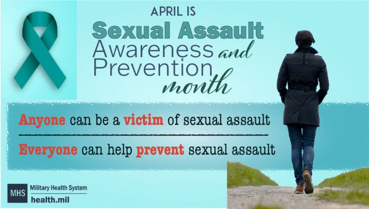 Links to Sexual assault awareness and prevention a DHA, DOD priority