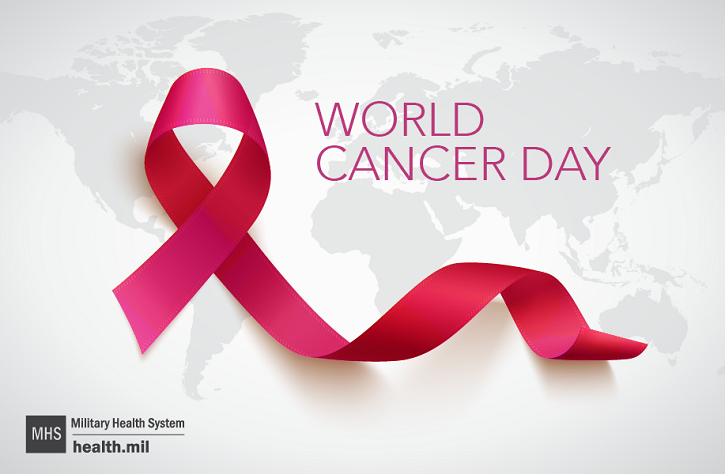 World Cancer Day is an international day marked on February 4 to raise awareness of cancer and to encourage its prevention, detection, and treatment.