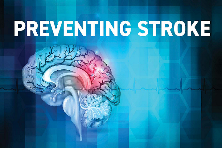 Stroke prevention awareness graphic (U.S. Air Force graphic)