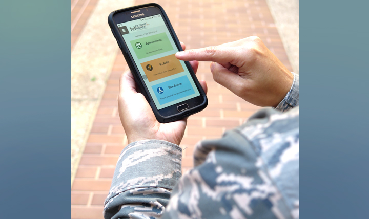 The TRICARE Online Patient Portal connects registered users with online health care information and services at military hospitals and clinics.