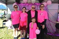 Air Force Lt. Col. Michelle Nash is joined by her husband and three of her four children at the Think Pink Fun Run, a breast cancer awareness event held earlier this month at the U.S. Air Force Academy, Colorado. (Courtesy photo)