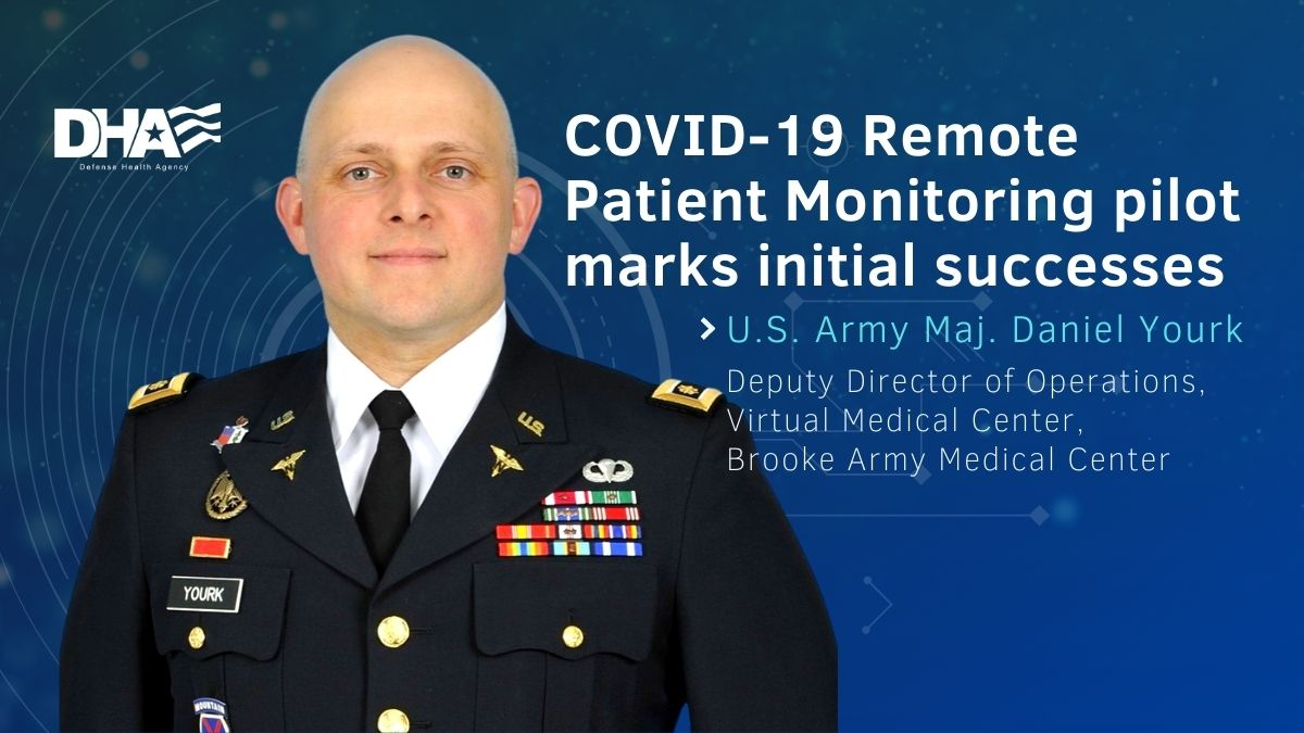 Opens larger image for COVID-19 remote patient monitoring pilot marks initial successes