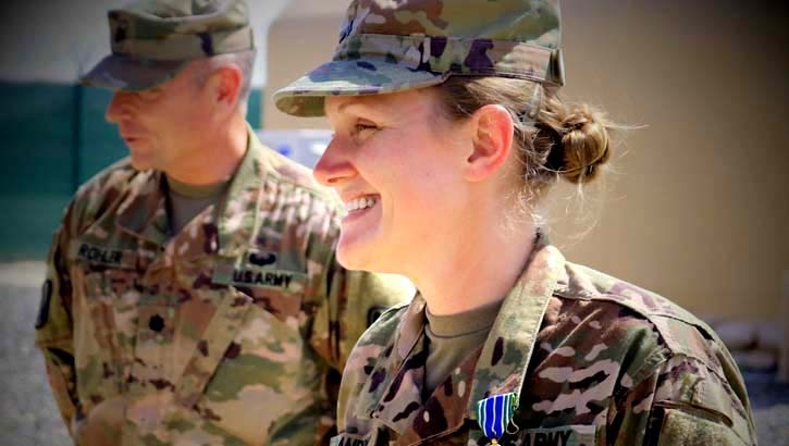Maintaining peak health is critical for all military personnel. This month, we focus on women whose health concerns and symptoms may be different from those in men. (U.S. Army National Guard photo by Sgt. Roger Jackson)