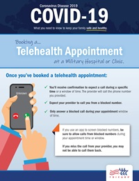 Telehealth appointing at MTFs