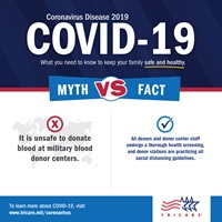 it is safe to donate blood during covid19