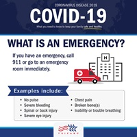 what is an emergency infographic