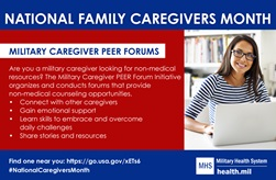 Military Caregiver Peer Forums