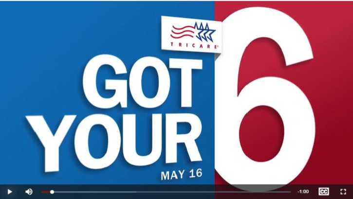 Video screen image for the May 16, 2021 Got Your Six video