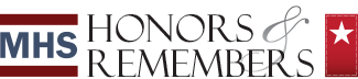 MHS Honors and Remembers logo