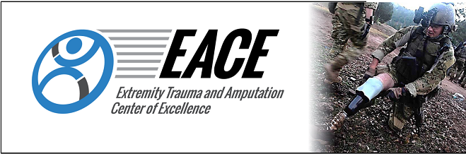 Graphic Banner Extremity Trauma Amputation Center of Excellence