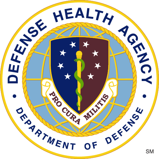 Seal for the Department of the Defense's Defense Health Agency
