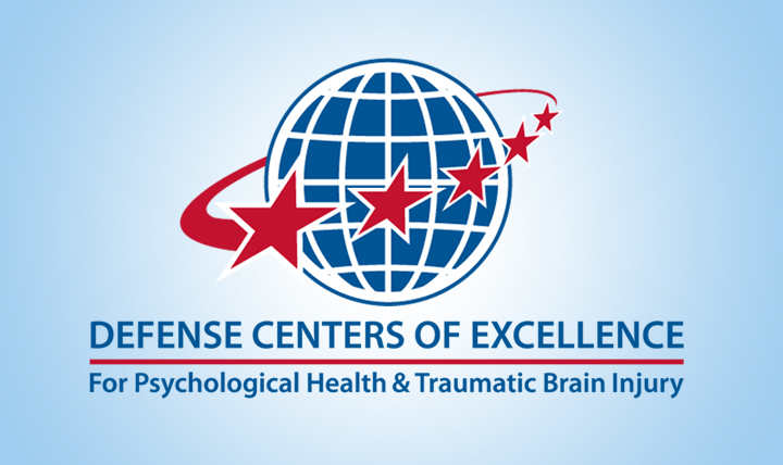 Defense Centers of Excellence for Psychological Health & Traumatic Brain Injury Logo