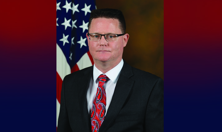 Sean Biggerstaff, Ph.D., acting director for the Research and Development directorate for the Defense Health Agency