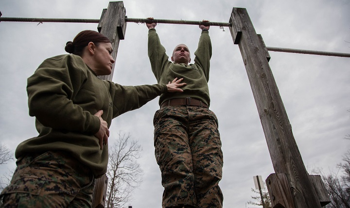 Intense daily physical training, such as during basic training, increases your calcium and iron needs and has been associated with lower levels of vitamin D in the blood.